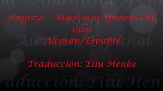 Angizia - Anastasia Spennocchi, 1920 (Subtitulos Alemán/Español)