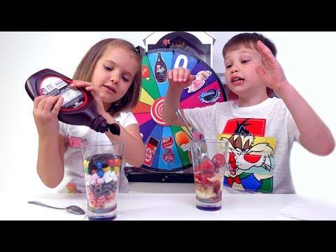 Мороженое ЧЕЛЛЕНДЖ или Ice Cream Challenge (видео)