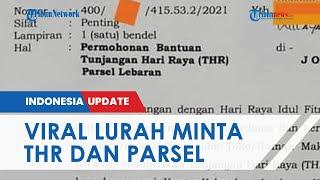 Viral Foto Surat Resmi Lurah di Jombang Minta Pengusaha Beri THR dan Parsel untuk 16 Anak Buahnya