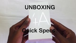 Redmi 4A UNBOXING & OverView