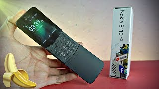 Nokia 8110 4G 🍌Banana Phone is BACK! - UNBOXING!! 🍌