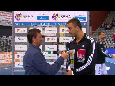 Nexe - MKB-MVM Veszprem Post-Match Interview