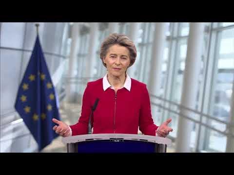 Μήνυμα Προέδρου ΕΕ κ. Ούρσουλα φον ντερ Λάιεν   Ευρωπαϊκή Εταιρεία Παιδιατρικής Ογκολογίας