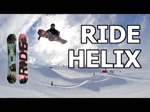 Ride Helix Snowboard Review 2019