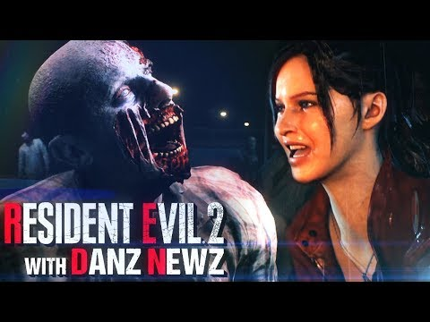 CLAIRE'S BEGINNING - Resident Evil 2 w/ Danz Newz Pt1 (2nd Run)