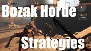 How to Beat The Bozak Horde - Trials 1-20 Strategies- Dying Li...