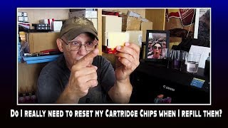 Do I really need to reset my Cartridge Chips when I refill them?