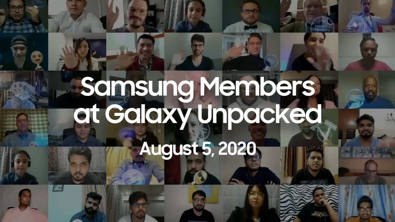 Samsung Members at Unpacked August 2020: Highlights | Samsung thumbnail