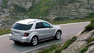 #5656. Mercedes Benz ML63 AMG 2005 (классное видео)