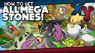 Banette  - (Pokémon) - Pokémon X and Y - All Mega Stone Locations Guide!