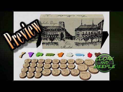 Cloak and Meeple: Preview, Turin Market