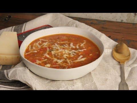 Stuffed Pepper Soup Recipe   Ep.1287