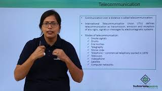 Communication Technologies - History