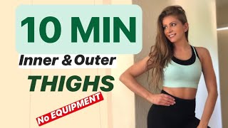 10 MIN | Inner & Outer Thigh | Workout at Home - UDA!