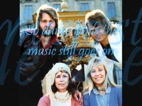 ABBA - Dance (While The Music Still Goes On) with Lyrics