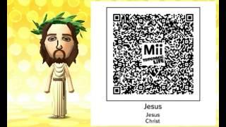 My Tomodachi Life Mii QR Codes!!