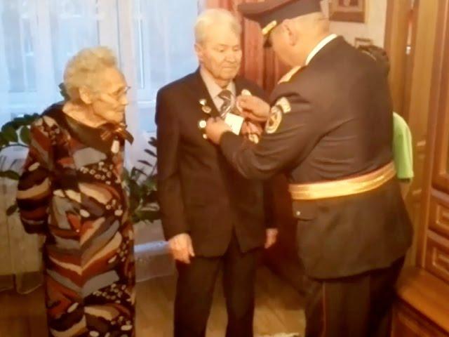 Монголы в гостях у ветерана