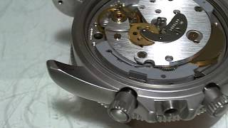 十點九分鐘錶Fortis Cosmonaut Chronograph Cal 5100和平太空站宇航天文台計時 錶維修4-3 Watch9After10詹師傅+886933594731