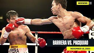 FULL FIGHT | Marco Antonio Barrera Vs. Manny Pacquiao (DAZN REWIND)