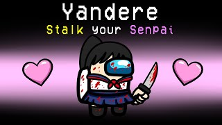 YANDERE Imposter Role in Among Us