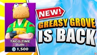 Nick Eh 30 reacts to NEW Greasy Grove & Moisty Palms map change!