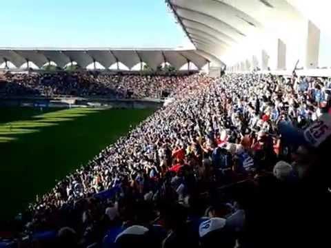 """""""U de chile vs ñublense 30/11/14"""" Barra: Los de Abajo • Club: Universidad de Chile - La U"""