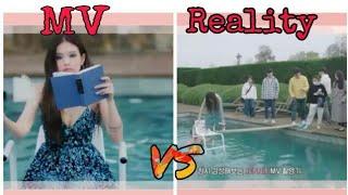 JENNIE   SOLO MV VS REALITY
