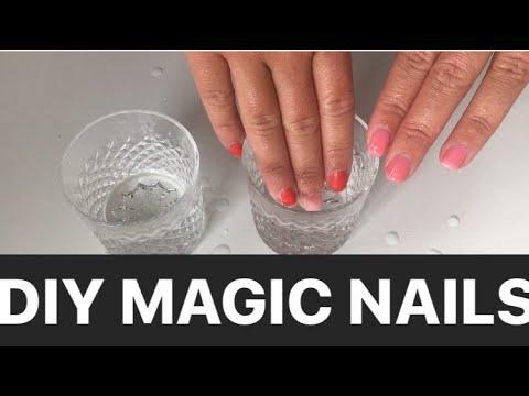 DIY farbwechselnden Nagellack unter 5€  I DIY Color Changing Nailpolish I Marina Si