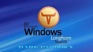 All Windows Longhorn Sounds ᴴᴰ