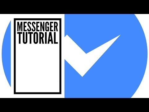 Facebook Messenger Tutorial for iPhone 2018