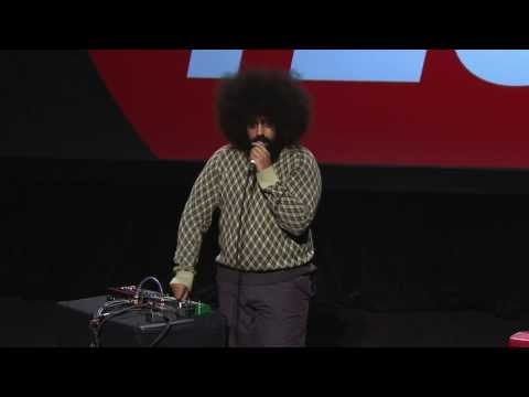 Reggie Watts - First Song From Poptech 2011 Live Performance (mp3 Link In Description) Mp3