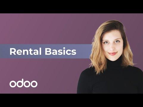 Rental Basics | odoo Rental