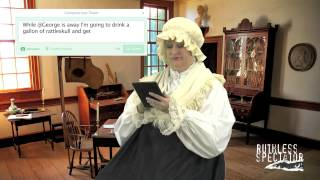 Tweets of The Rich & Famous: Martha Washington #10