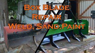 Box Blade Repair