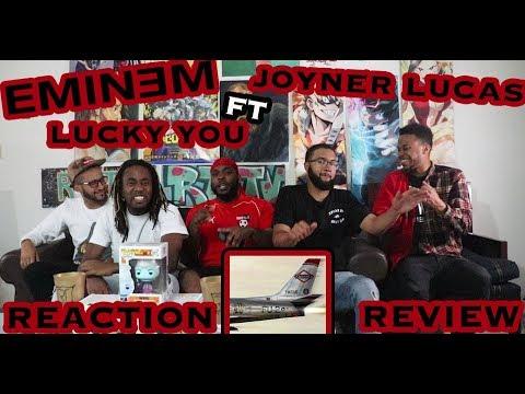 EMINEM FT JOYNER LUCAS – LUCKY YOU (KAMIKAZE ALBUM) REACTION/REVIEW