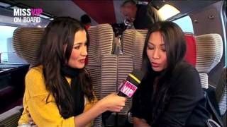 Anggun [Miss VIP on Board the iDTGV]