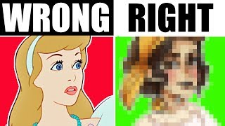 HOW DISNEY PRINCESSES SHOULD ACTUALLY LOOK // By the Book: Episode 3