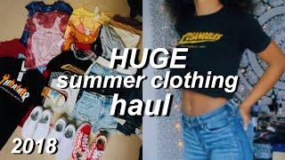 HUGE $800 Summer Clothing Try On Haul! | Azlia Williams