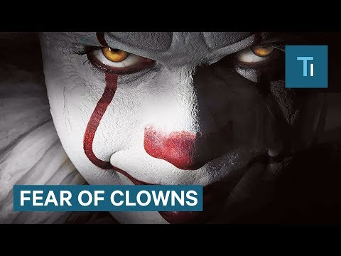 Here's why people are afraid of clowns
