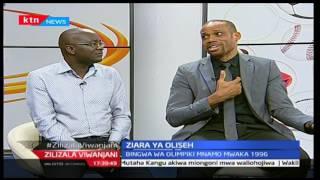 Zilizala Viwanjani: Aliyekuwa mchezaji na mkunfuzi wa Nigeria-Sunday Oliseh azuru Kenya, pt 2