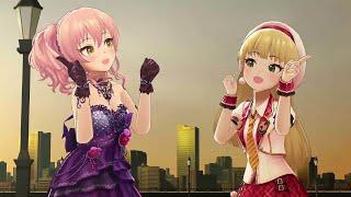 Mika Jougasaki  - (THE iDOLM@STER: Cinderella Girls) - Twin☆Kuru★Tail [Twin☆くるっ★テール] - Mika Rika (IDOLM@STER CINDERELLA GIRLS STARLIGHT STAGE) 4K60FPS