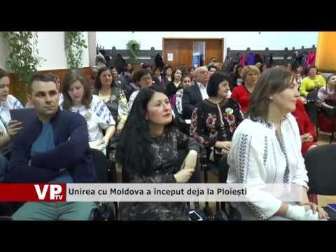 Unirea cu Moldova a început deja la Ploiești