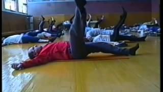 Лечебная гимнастика при остеохондрозе позвоночника.