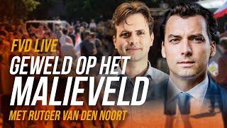 Geweld op het Malieveld (met Rutger van den Noort) - FVD Journaal #29