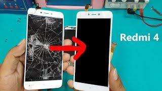 Xiaomi Redmi 4 LCD Screen +Touch Screen Digitizer Replacement || Redmi 4 Display Replacement