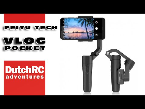 mini review of the Feiyu Tech VLOG pocket phone gimbal :)