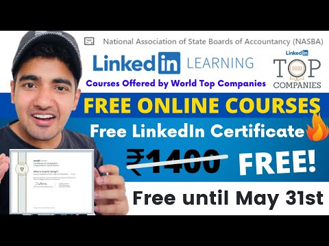 FREE LinkedIn Learning Courses With Certificate | Specially For ...