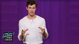 Shawn Mendes Introduces The Shawnologue #LateLateShawn