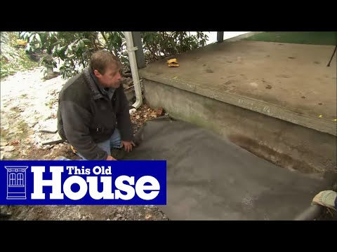 How to Build Granite Porch Stairs