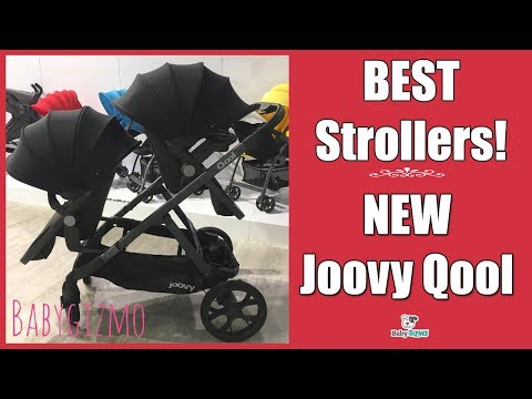 BRAND NEW JOOVY QOOL SINGLE to DOUBLE Baby Stroller 2017 EXCLUSIVE SNEAK PEEK!